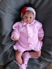 Little Precious Girl, all dressed up in Pink!